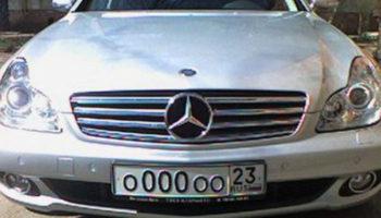 Россияне смогут легально покупать «красивые» номера на машину