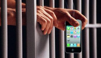 Мобильники заключенных в тюрьмах будут принудительно блокировать