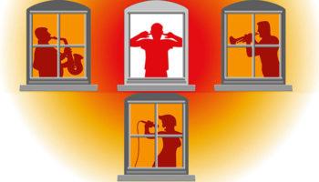 Штрафы для шумных соседей хотят довести до 150 тыс. рублей